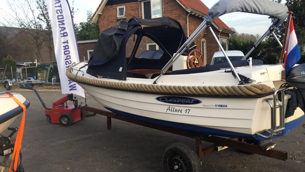 Crescent Allure 17 incl Yamaha 8 pk HT Occasion!